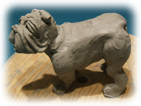 BulldogSculpture